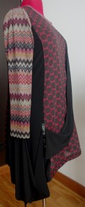 Side view with missoni-ish print