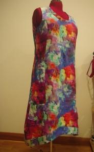 linen dress. softest ever