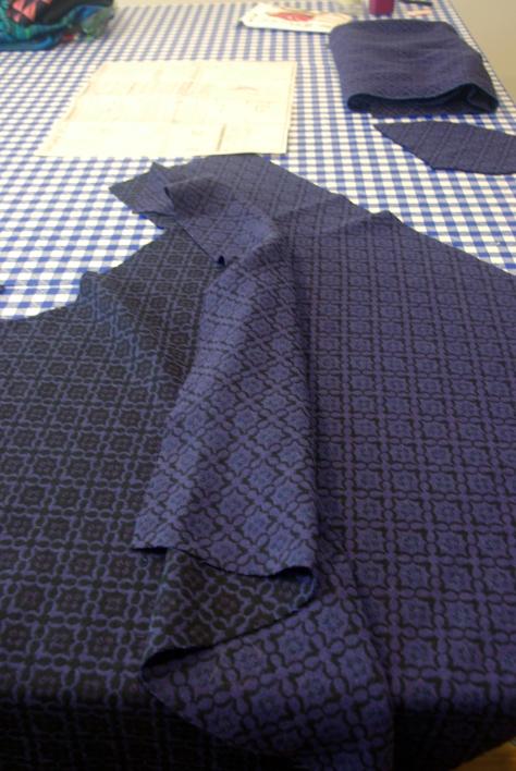Ann Sui wool blend
