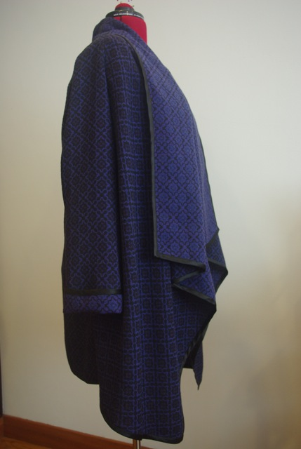 Waterfall Coat Side